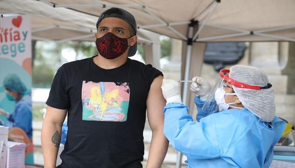 Minsa señaló que no es necesario realizar una jornada de vacunación específica contra la ditfteria. (Foto: Britanie Arroyo /@photo.gec)
