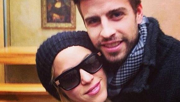 Shakira y Piqué publican en Instagram su primera foto del año