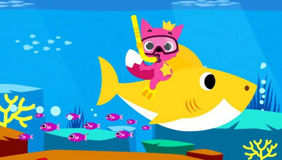 'Baby Shark', la pegajosa canción infantil, destronó a 'Despacito' en Youtube como el video más visto. (Foto: Pinkfong! Kids' Songs & Stories / YouTube)