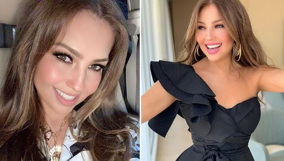 """Thalía se mide la cintura y lanza mensaje: """"¿y si me remuevo otras 2 costillas?│VIDEO"""