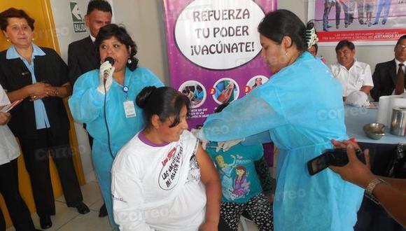 Hospitales y centros de salud vacunarán gratis contra la influenza