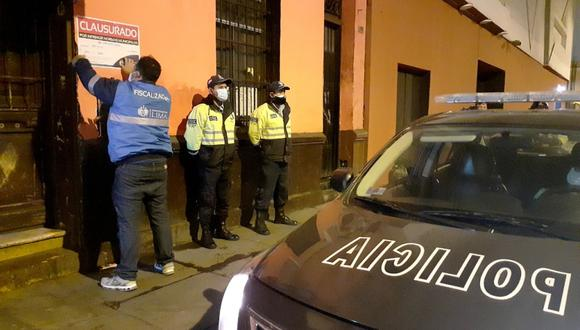 La Municipalidad de Lima seguirá llevando a cabo inspecciones en los locales que no respeten la inmovilización social obligatoria y funcionen a puerta cerrada.