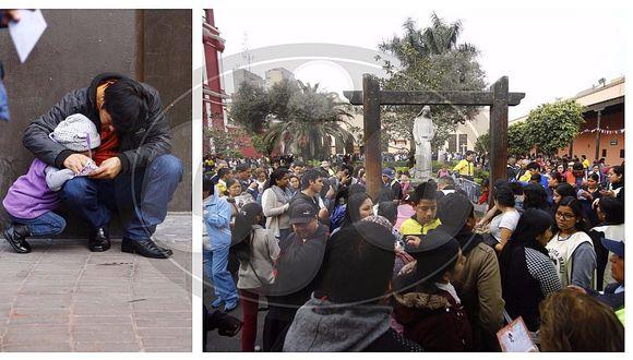Santa Rosa de Lima: fieles abarrotan convento a 400 años de muerte de la patrona de América (FOTOS)