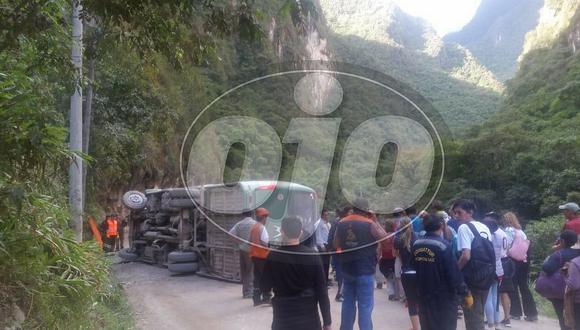 Se pronuncia la empresa de bus que provocó accidente en carretera de Machu Picchu