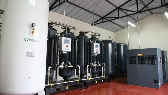 A la fecha, según el Ministerio de Salud, nuestro país cuenta con 50 plantas de oxígeno, incluidas las que fueron adquiridas por campañas de la sociedad civil. (Foto: Difusión)