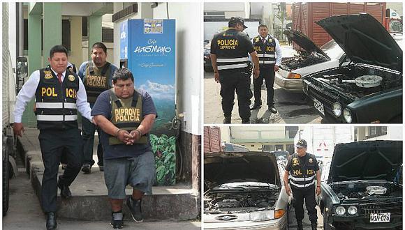 Huaycán: Iban a comercializar vehículos robados pero fueron capturados (VIDEO)