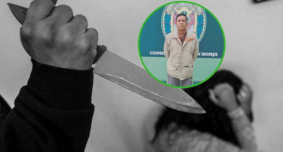 Extranjero le clava un cuchillo en la pierna a su pareja durante discusión