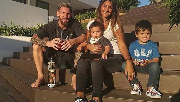 Nació el tercer hijo de Lionel Messi y el futbolista muestra la primera foto en redes