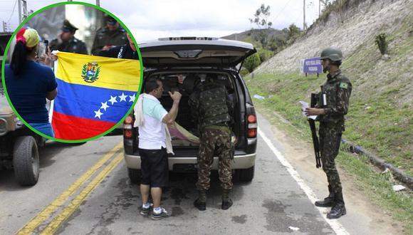 Brasil cierra todas sus fronteras y ya no recibirá a más venezolanos