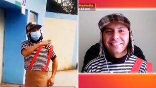 Conoce al 'Chavo del 8' que asistió a votar en Cajamarca