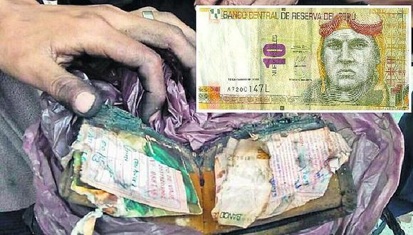 ¿Qué hacer para cambiar un billete quemado, roto o deteriorado? Atención a las condiciones