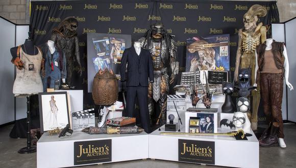 El prototipo de Alien, el traje de Scarface, la varita de Harry Potter, y más objetos serán subastados. (Foto: AFP)