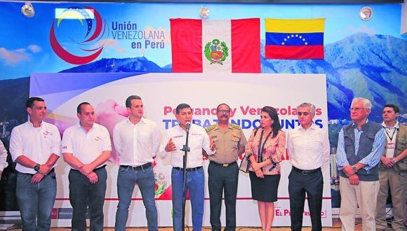 LIMA 15 DE FEBRERO DEL 2020Ministro Morán visita ONG venezolana y brindó detalles sobre medidas que se tomarán frente a mal de accionar de malos extranjeros y sobre la seguridad que se será denegada al próximo congreso de la república.