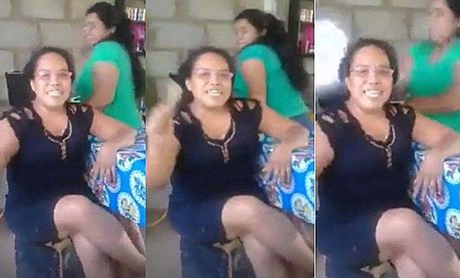 Joven saluda a sus seguidores pero recibe tremendo golpe de su mamá en vivo