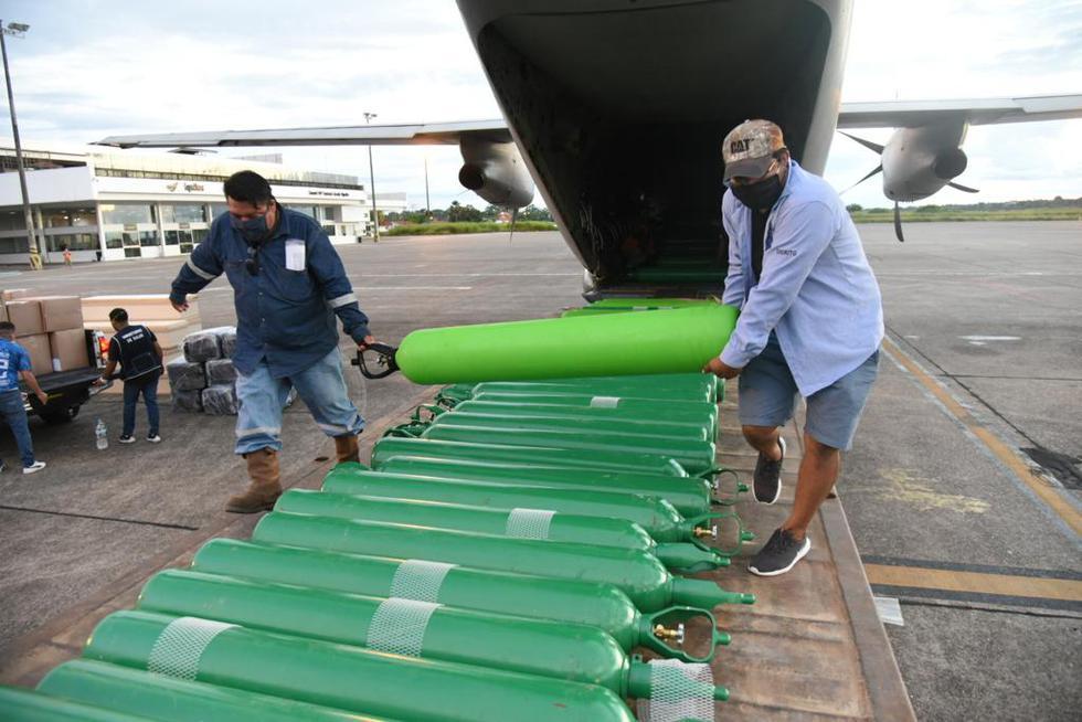 Loreto: Gore adquirió 500 balones de oxígenos. (Foto: Gobierno Regional de Loreto - Oficial)