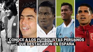Luis Abram: conoce a los peruanos que jugaron en la liga española