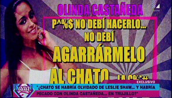Mario Hart se olvida de Leslie Shaw y besa a Olinda Castañeda en Trujillo