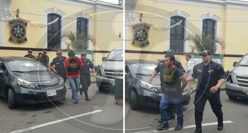 Capturan a dos presuntos delincuentes dedicados a desmantelar autos (VIDEO)