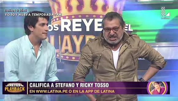 Ricky Tosso y su última presentación junto a su hijo en 'Los Reyes del Playback' [VIDEO]