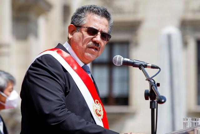 Manuel Merino de Lama solo duró cinco días en el cargo. (Agencias)