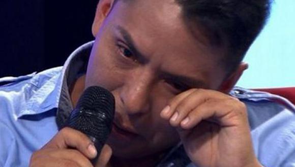 Edwin Sierra lloró y negó infidelidad con hermana de Milena Zárate [VIDEO]