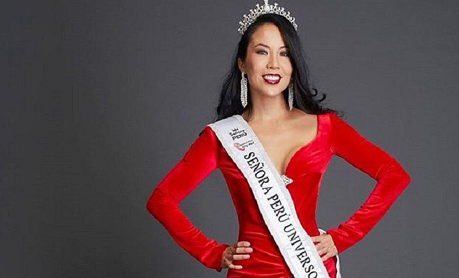 Patty Wong tuvo buena participación y quedó segunda finalista en Señora Universo 2016