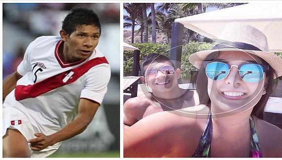 Edison Flores está muy enamorado y fotos con su novia lo demuestran (FOTOS)