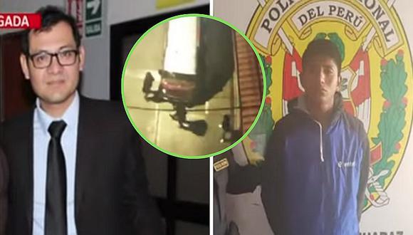 Asesinan a puñaladas a fiscal en plena calle de Huaraz | VIDEO