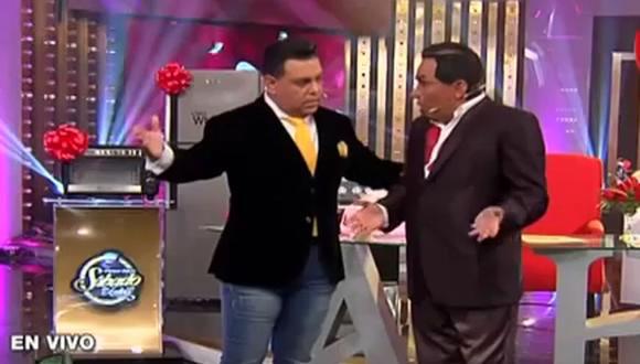 Andrés Hurtado botó a Edwin Sierra de su programa