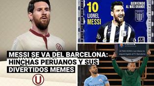 Messi no renueva con Barcelona y los hinchas lo piden en la Liga 1