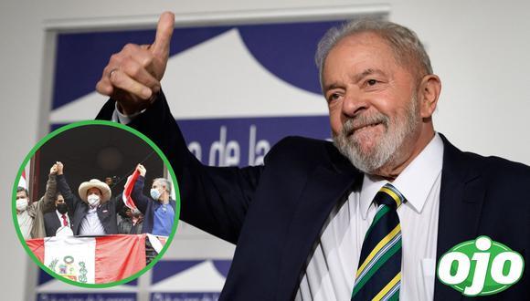 """Lula Da Silva felicita a Pedro Castillo por su """"victoria"""" en Perú. (Foto: redes sociales   GEC)."""