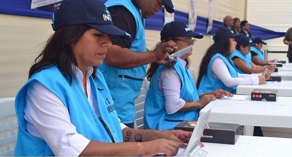 INEI: Más de 11 mil puestos de trabajo con sueldos de S/1,500
