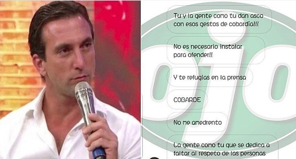 """Antonio Pavón rompe su silencio tras insultos: """"le contesté de la peor manera"""" (VÍDEO)"""