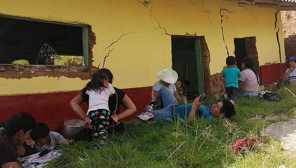 La Libertad. Pobladores de Usquil están preocupados por el hundimiento del suelo. (GEC)