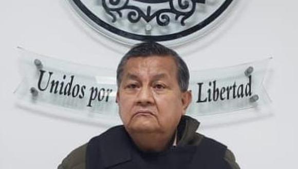 El exjuez de paz letrado de Monsefú, Jorge Luis Javiel Cherres (66), fue capturado por la Policía. (Foto:PNP)