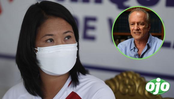 Nano Guerra García cuestionó que hasta el momento representantes de Perú Libre no se hayan comunicado con Fuerza Popular para acordar términos del debate en Chota (Cajamarca) (Foto: Luis Centurión | GEC)