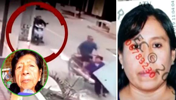 Abuelita que fue atropellada junto a su esposo por imprudente motociclista pide ayuda│VIDEO