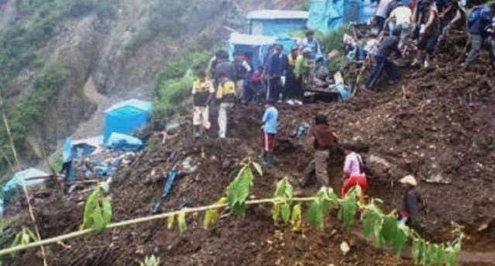 Siete personas mueren en huaico en Puno (FOTOS)