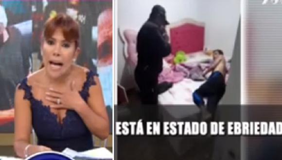Magaly Medina expresa su indignación por liberación de Kike Suero. (Foto: Captura ATV)