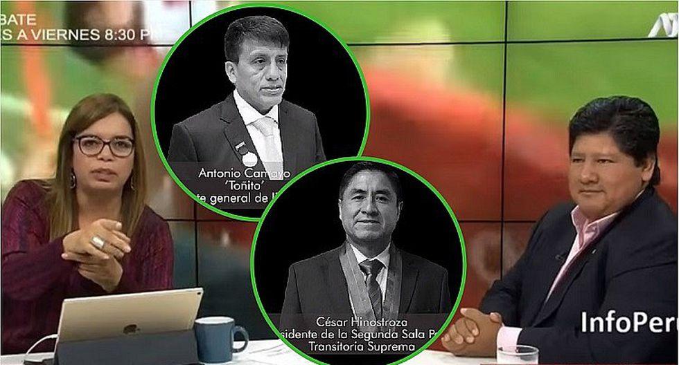 Involucran a Milagros Leiva en audio donde Antonio Camayo y César Hinostroza hablan de Edwin Oviedo (VÍDEOS)