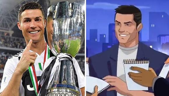 Cristiano Ronaldo sorprende con tráiler de su propia serie animada (VIDEO)
