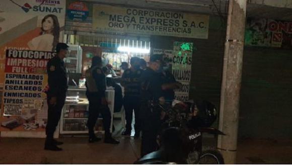La Policía detuvo a Nataly de Jesús Alencart García, a quien se le inició una investigación por el presunto delito contra la fe pública. (Foto: Radio Madre de Dios)