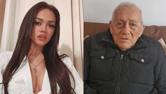 Mayra Goñi agradecida con el apoyo de sus fans trs muerte de su abuelito
