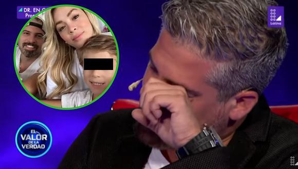 El llanto desconsolado de Pedro Moral por el hijo de Sheyla Rojas (VIDEO)
