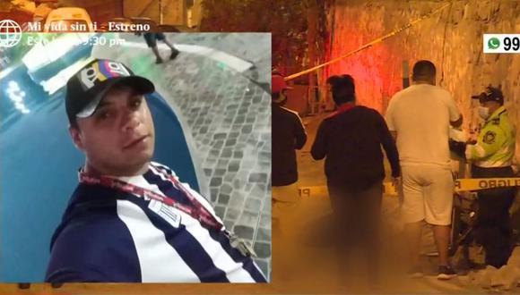 El hombre asesinado en Comas fue identificado como Luis Flores Valle y se desempeñaba como mototaxista. (Captura: América Noticias)