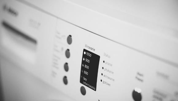 Limpia la lavadora con vinagre, agua y bicarbonato. (Foto: Pixabay)