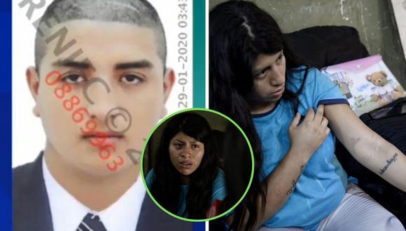 Intento de feminicidio en José Walter Llauca (23) a Joselyn Rivera Ramirez(25) estando embarazada, ocasionandole cortes y moretones. El sujeto también cortó y golpeó a los perros de la víctima. Villa El Salvador   Miguel Yovera / GEC