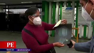 Mujer continúa con aguja en el rostro tras ser atacada con una jeringa en Ventanilla