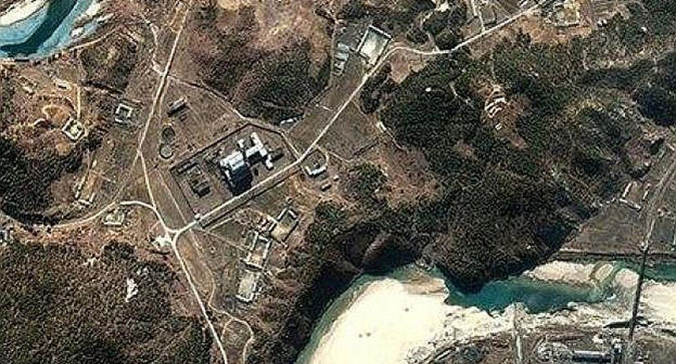 Imágenes por satélite revelan que Corea del Norte fabrica plutonio para bombas