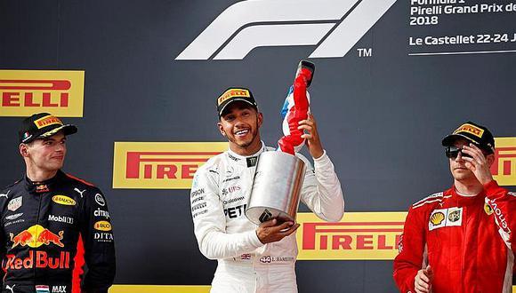 Fórmula 1: Lewis Hamilton vence en Paul Ricard y recupera liderato